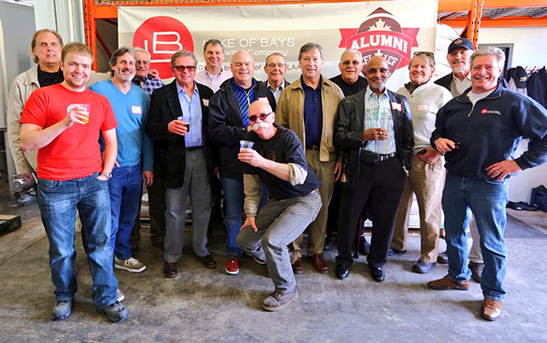 Picture of CFL Alumni Association and Lake of Bays Brewing Company
