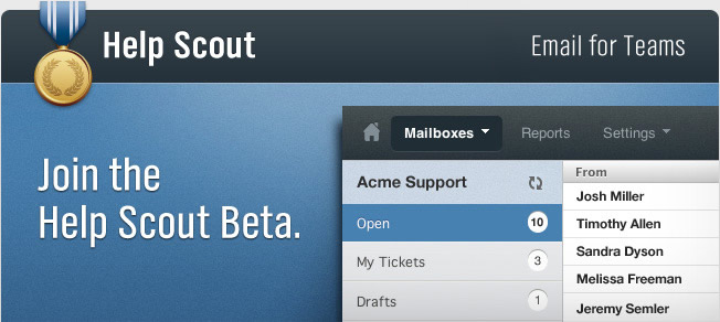 Join the Help Scout Beta