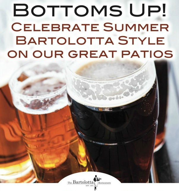 Bottoms Up! Celebrate Summer on our Patios