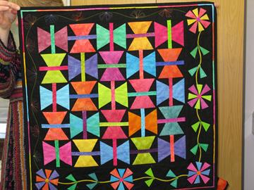 Niki Perrington's Butterfly Quilt